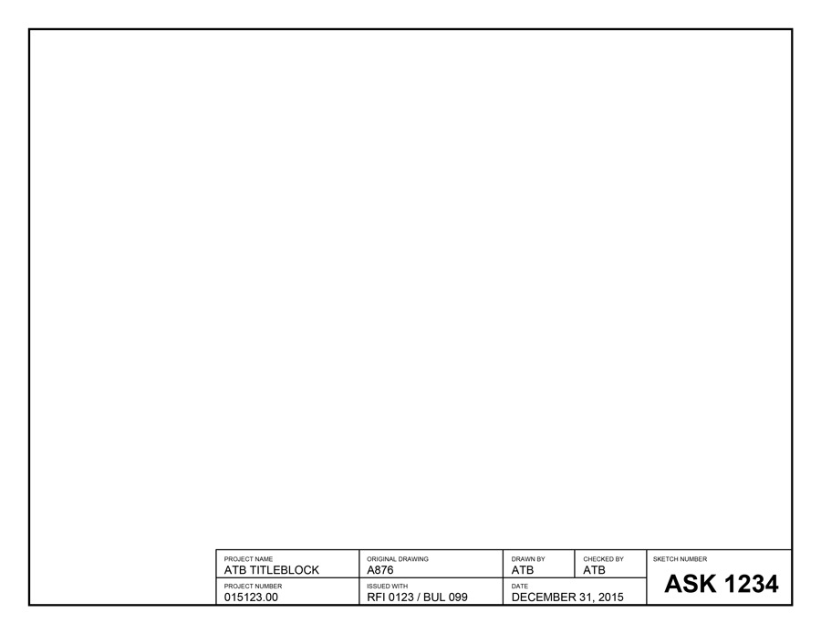 ASK Template Landscape